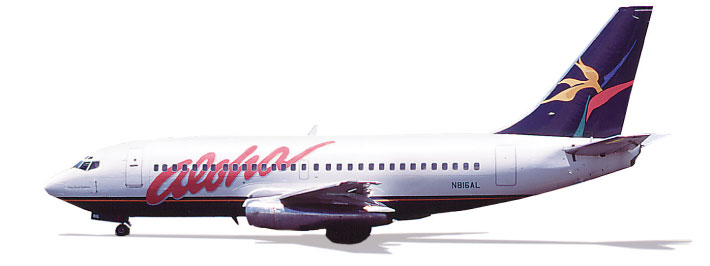 Info Grafik Inc  Corporate Identity: Aloha Airgroup